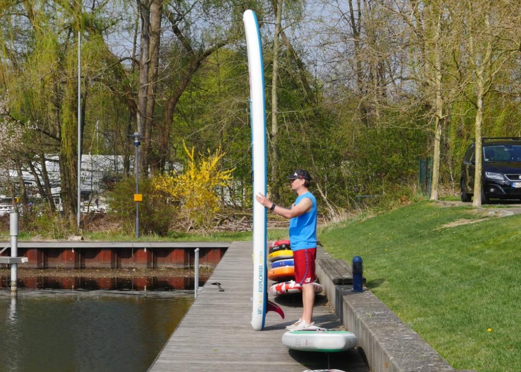 Red Paddle Explorer 12-6 sup test superflavor 06
