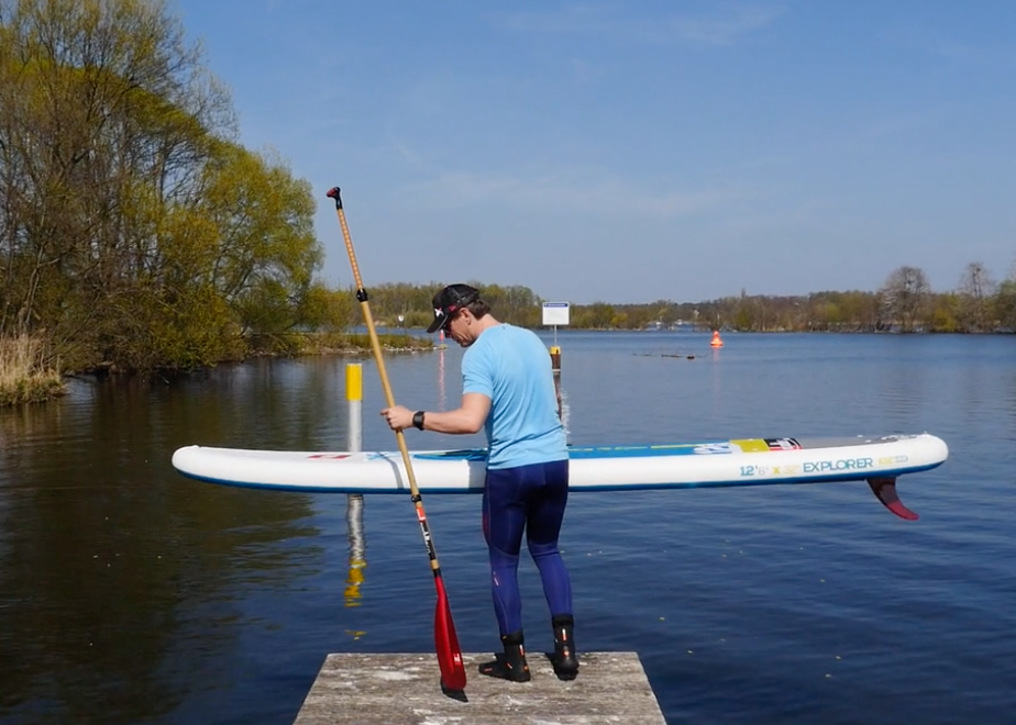 Red Paddle Explorer 12-6 sup test superflavor 16