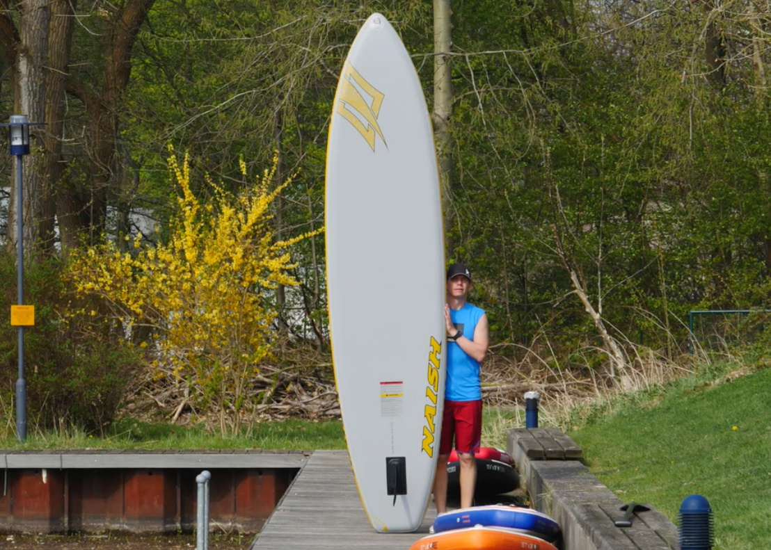 naish glide air inflatable sup board sup test superflavor 03