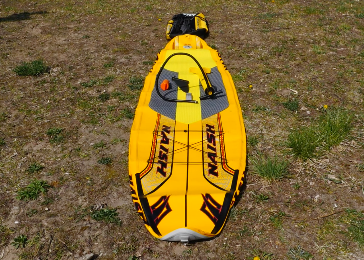 naish glide air inflatable sup board sup test superflavor 06