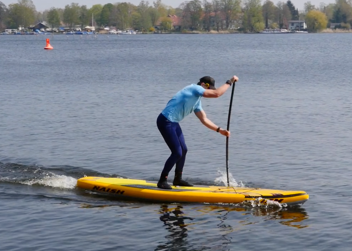 naish glide air inflatable sup board sup test superflavor 12