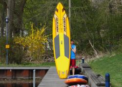 naish glide air inflatable sup board sup test superflavor 13 250x179 - Naish Glide Air 12 im SUP Test