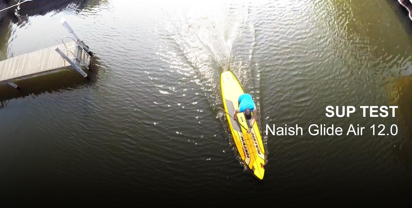 naish glide air sup test 2015