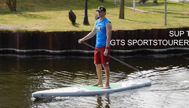 sup test gts sportstourer 11 inflatable sup gleiten-tv superflavor surf magazine