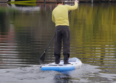 Mistral trecker SUP Board Test 02 400x286 - Mistral Trekker 12.6  im Inflatable SUP Test