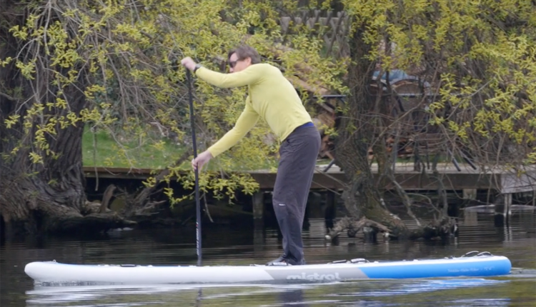 Mistral trecker SUP Board Test 03