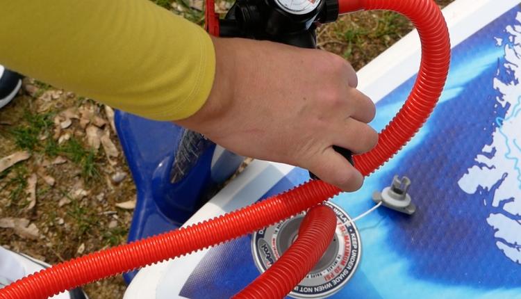 Mistral trecker SUP Board Test 08