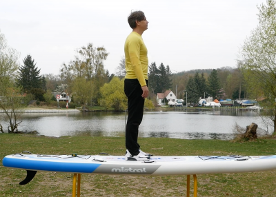 Mistral trecker SUP Board Test 09 400x286 - Mistral Trekker 12.6  im Inflatable SUP Test