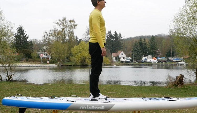 Mistral trecker SUP Board Test 09