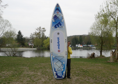 Mistral trecker SUP Board Test 10 400x286 - Mistral Trekker 12.6  im Inflatable SUP Test