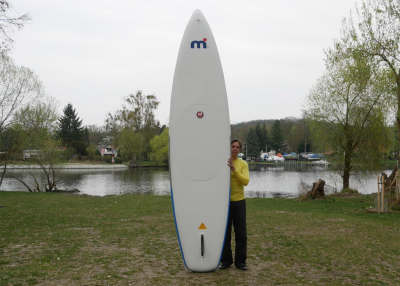 Mistral trecker SUP Board Test 12 400x286 - Mistral Trekker 12.6  im Inflatable SUP Test