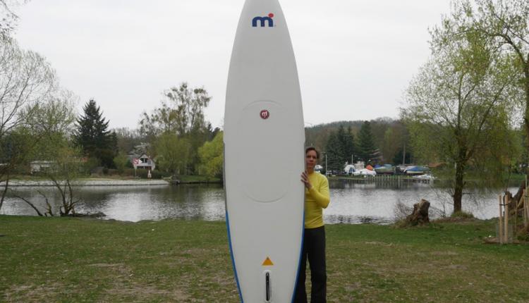Mistral trecker SUP Board Test 12
