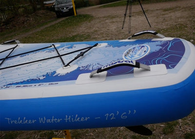 Mistral trecker SUP Board Test 13 400x286 - Mistral Trekker 12.6  im Inflatable SUP Test