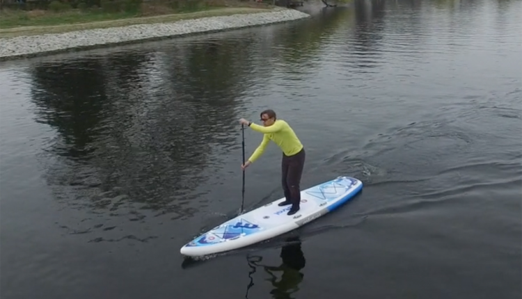 Mistral trecker SUP Board Test 14