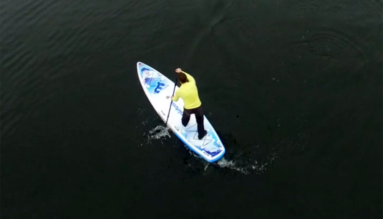 Mistral trecker SUP Board Test 15
