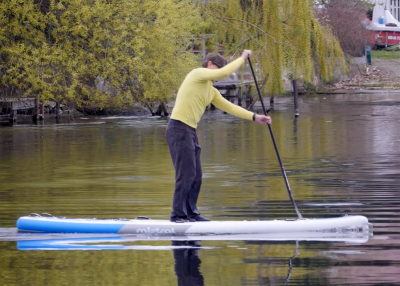 Mistral trecker SUP Board Test 16 400x286 - Mistral Trekker 12.6  im Inflatable SUP Test