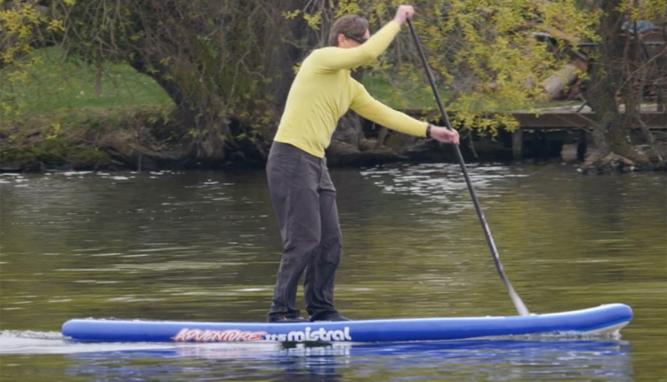 mistral heritage 11-5 inflatable sup board test superflavor sup mag 13