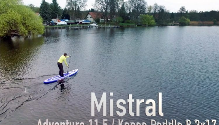 mistral heritage 11-5 inflatable sup board test superflavor sup mag 19