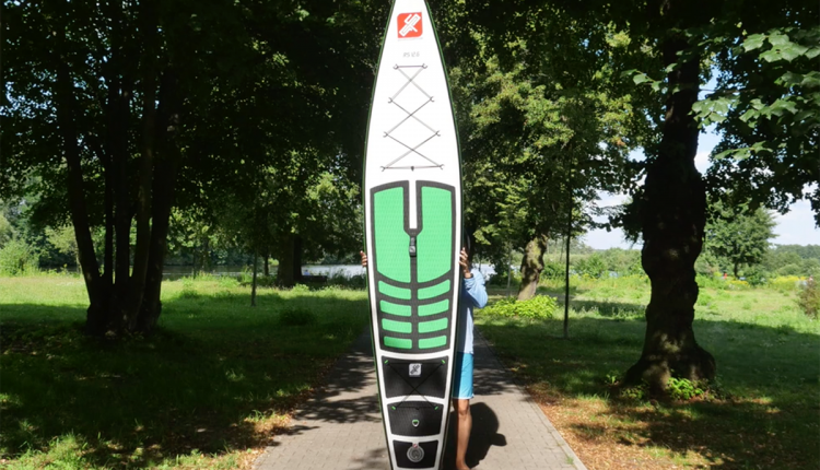 GTS RS 12.6 nflatable SUP Test superflavor sup mag 06