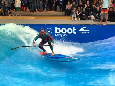 boot duesseldorf sup wave masters superflavor sup mag IMG 9936 400x300 - Foto-Highlights der boot Düsseldorf SUP Wave Masters 2018