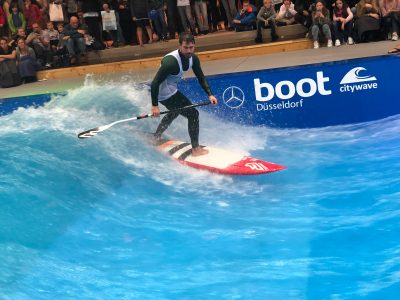 boot duesseldorf sup wave masters superflavor sup mag IMG 9959 400x300 - Foto-Highlights der boot Düsseldorf SUP Wave Masters 2018