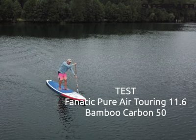 fanatic pure air superflavor sup board test 01 400x286 - Fanatic Pure Air Touring 11.6 im Inflatable SUP Board Test