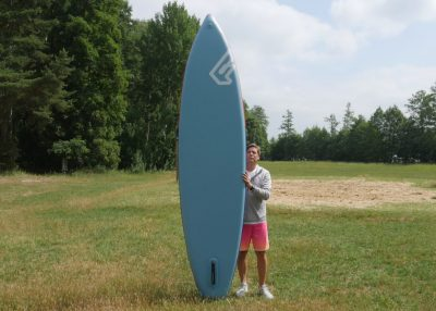 fanatic pure air superflavor sup board test 09 400x286 - Fanatic Pure Air Touring 11.6 im Inflatable SUP Board Test