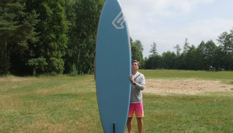 fanatic pure air superflavor sup board test 09