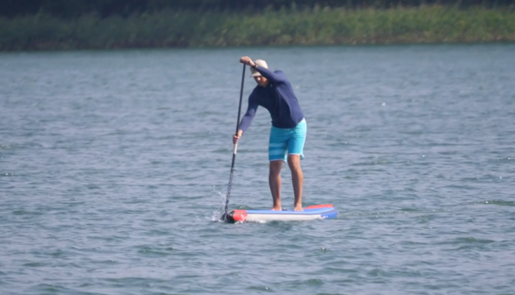 Starboard Allstar Airline Inflatable sup Board Test – Christian Hahn Superflavor SUP Mag 18