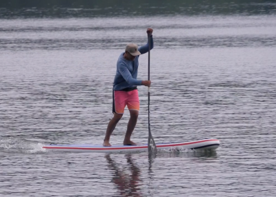 gts malibu inflatable sup board test christian hahn superflavor sup mag 01 400x286 - GTS Malibu Surf 11.0 im Inflatable SUP Board Test