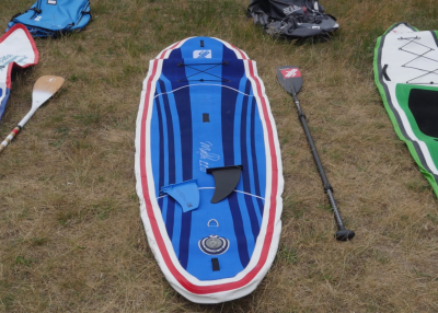 gts malibu inflatable sup board test superflavor sup mag 05 400x286 - GTS Malibu Surf 11.0 im Inflatable SUP Board Test