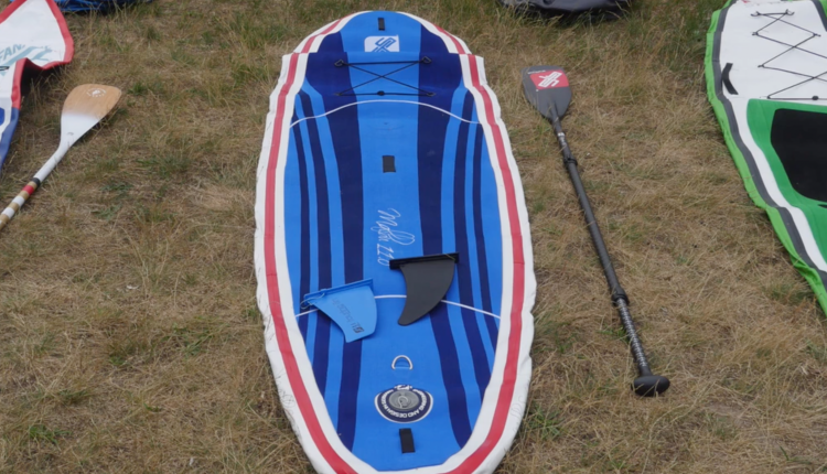gts malibu inflatable sup board test – superflavor sup mag 05