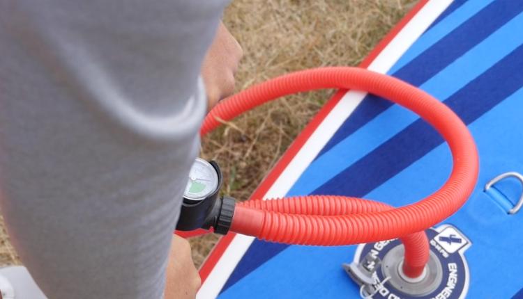 gts malibu inflatable sup board test – superflavor sup mag 06