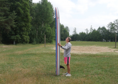 gts malibu inflatable sup board test superflavor sup mag 10 400x286 - GTS Malibu Surf 11.0 im Inflatable SUP Board Test