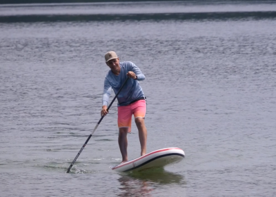 gts malibu inflatable sup board test superflavor sup mag 11 400x286 - GTS Malibu Surf 11.0 im Inflatable SUP Board Test