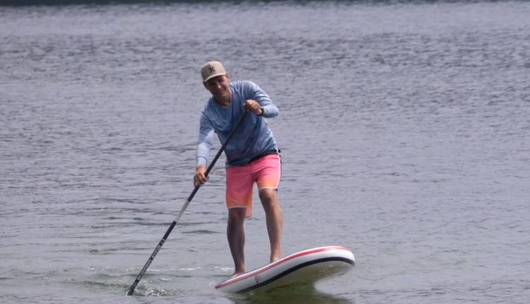 gts malibu inflatable sup board test – superflavor sup mag 11