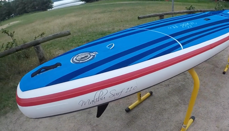 gts malibu inflatable sup board test – superflavor sup mag 12