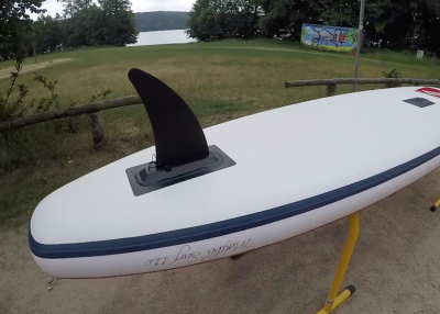 gts malibu inflatable sup board test superflavor sup mag 13 400x286 - GTS Malibu Surf 11.0 im Inflatable SUP Board Test