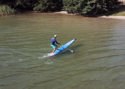 starboard airline allstar infalable sup board test christian hahn superflavor sup mag 03 400x286 - Starboard Allstar Airline 14.0x26 im Inflatable SUP Board Test