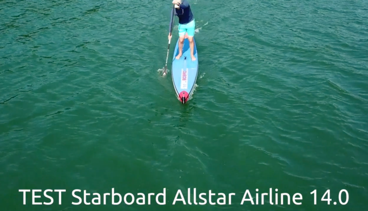 starboard airline allstar infalable sup board test – superflavor sup mag 01