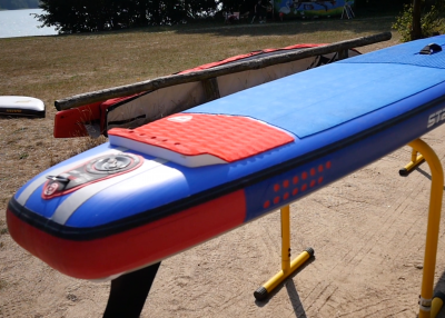 starboard airline allstar infalable sup board test superflavor sup mag 12 400x286 - Starboard Allstar Airline 14.0x26 im Inflatable SUP Board Test