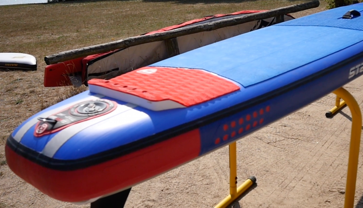 starboard airline allstar infalable sup board test – superflavor sup mag 12