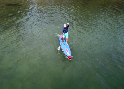starboard airline allstar infalable sup board test - superflavor sup mag 13
