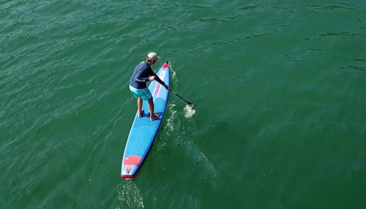 starboard airline allstar infalable sup board test – superflavor sup mag 16