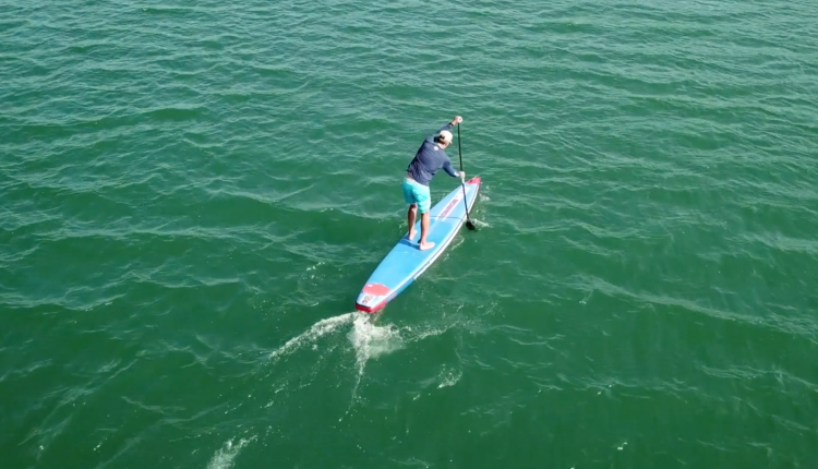 starboard airline allstar infalable sup board test – superflavor sup mag 17