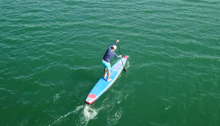 starboard airline allstar infalable sup board test – superflavor sup mag 18