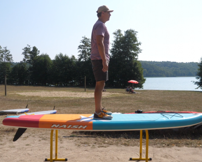 naish alana 2019 inflatable sup board test superflavor sup mag 07 400x320 - Naish Alana Air DC 11.6 im Inflatable SUP Board Test