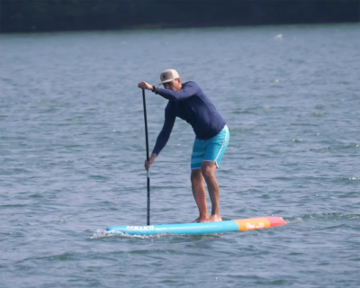 naish alana 2019 inflatable sup board test - superflavor sup mag