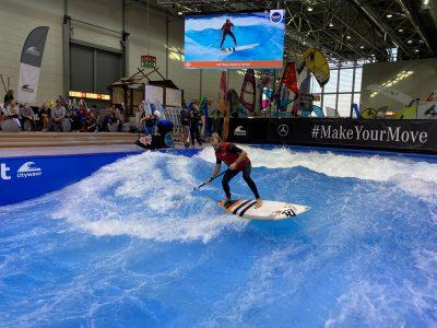 IMG 8191 400x300 - Fiona Wylde und Zane Schweitzer siegen bei den boot Düsseldorf SUP Wave Masters 2020