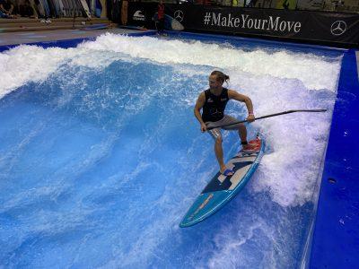 IMG 8214 400x300 - Fiona Wylde und Zane Schweitzer siegen bei den boot Düsseldorf SUP Wave Masters 2020